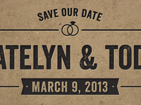 K&T Save Our Date