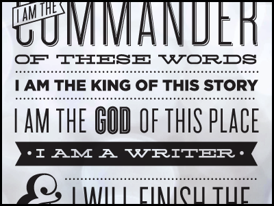 Writer's Prayer