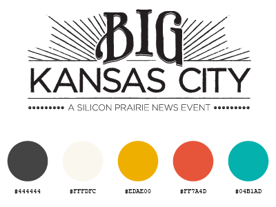 Big Kansas City Brand brand identity big kc kansas city logo colour palette typeface style guide