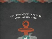Support neighbors