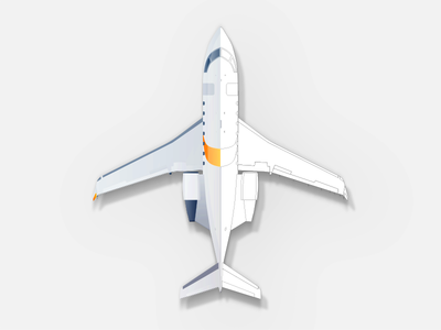 Aircraft illustration for an app
