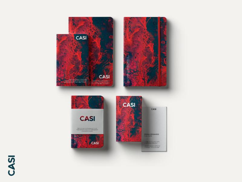 Casi Branding stationary design stationary design typography logo logotype branding