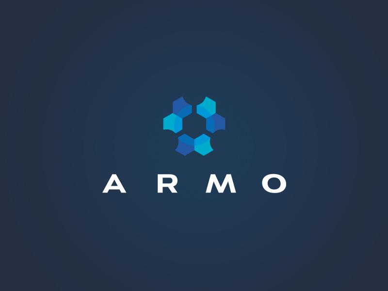 Armo Logotype identity logo design vectors branding vector logotype