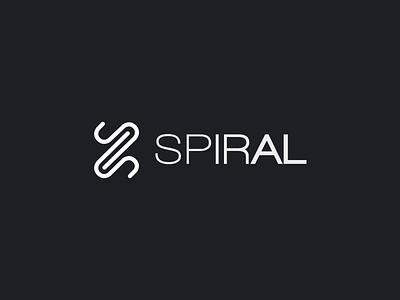 SPIRAL logo animation studio team brand design logo animation vector logo design