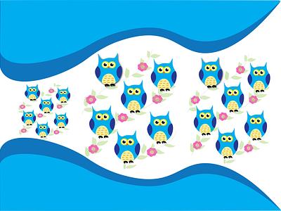 Owl vector illustration design