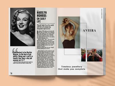 Havana Magazine page 6-7 graphic design type advertising lifestyle cover brand identity typography layout fashion design editorial magazine branding