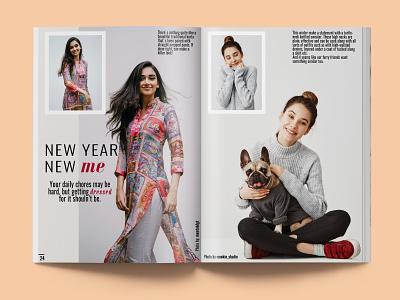 Havana Magazine page 24-25 concept branding minimal brand identity cover lifestyle graphic design typography design layout editorial fashion magazine