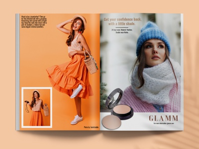 Havana Magazine page 26-27 advertisment minimal cover lifestyle graphic design brand identity branding typography layout fashion design editorial magazine