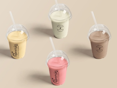 Frenzies Burger smoothies packaging concept restaurant food smoothies shakes identity brand design branding logo graphic design