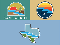 San Gabriel Hat Co. Logos