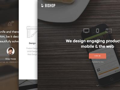 New Website Shipped! icons web typography soleil avenir branding responsive