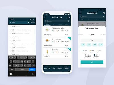 Diabetes control app health diabetic diabetes design app