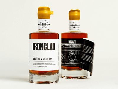 Ironclad Bourbon Label