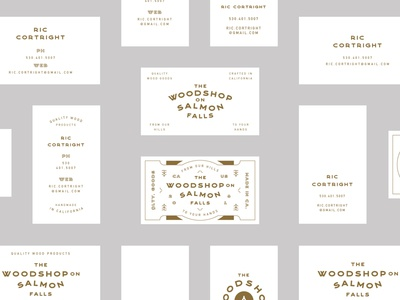 The Woodshop on Salmon Falls Business Cards