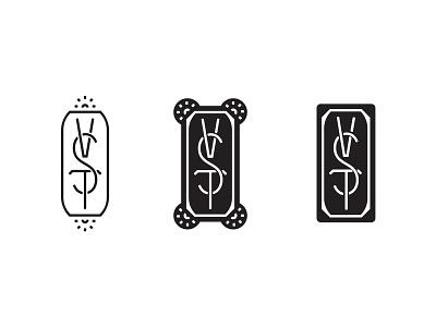 VST Graveyard 02 type distillery badge logo monogram virginia vst