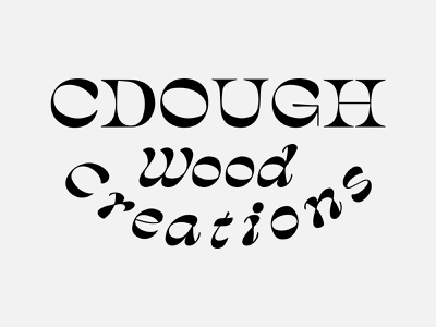 CDough Wood Creations Graveyard 02 groovy type graveyard