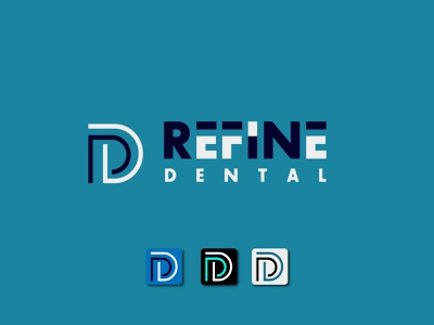 refine dental professional logo design clinic icon app luxury logo business typogaphy logo design minimal flat branding medical logo dental logo