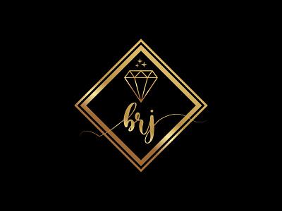 brj jewelry company logo modern logo business logo luxury logo vector typogaphy app logo design minimal flat branding fashion logo star logo gold logo diamond logo brj logo ornaments logo jewelry logo