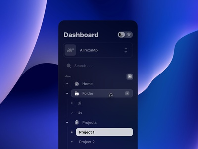 Navigation Bar ios macos mac windows backgrounds bigdata management dark trends minimal ux icon ui navigation bar
