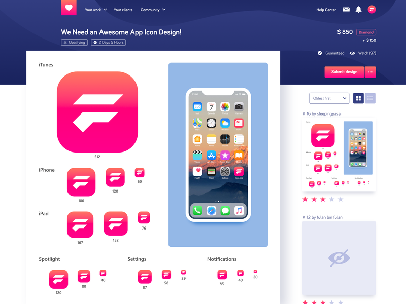 App Icon Template For Affinity Designer By Fajar Ardianto As
