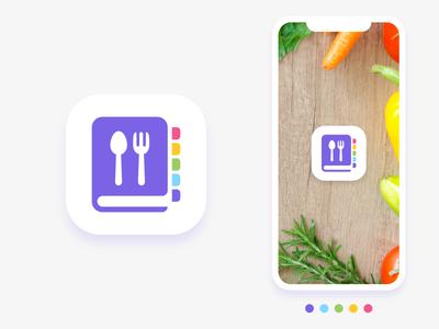 Recipe App Icon app icon food android ios icon app recipe