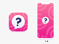 Curious Chat App Icon & Splash Screen