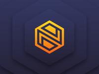 Hexagon + N Logo