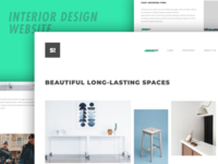 Interior Design Agency Website