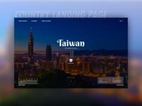 Taiwan Tourism Landing Page