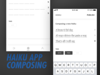 Haiku App: Compose Screen