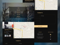 Dark Agency Template   Contact Us