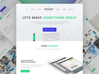Multipage Web Agency Template