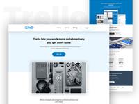 Trello   Website Redesign (concept)
