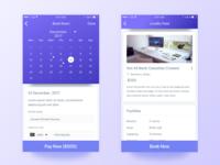 Meeting Room Booking App UI
