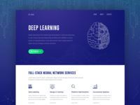 Deep Learning Website Exploration