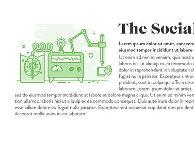 The Social Lab creative illustration lab
