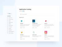 Application Catalog