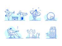 Torii illustrations