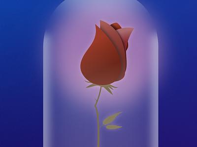 Enchanted Rose graphic design vector illustration