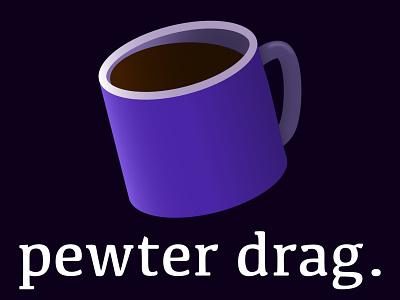 Pewter Drag fan art mistborn design vector