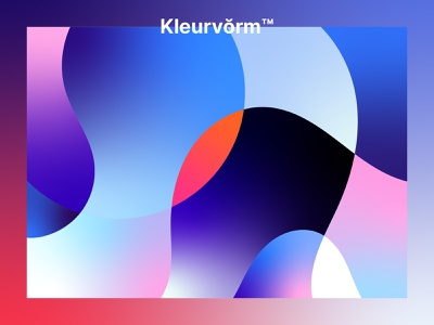 Kleurvorm™ 001 branding illustrator palette color vector digital art poster colour palette graphic design abstract illustration colour
