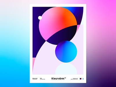 Kleurvorm 012 branding abstract print colour palette poster digital art vector graphic design palette illustration