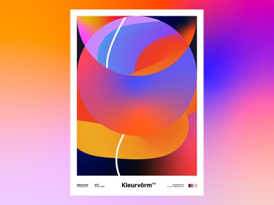 Kleurvorm 037 illustrator branding illustration print vector abstract graphic design design poster digital art