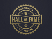 Wisconsin Bicycling Hall of Fame Unused Bage