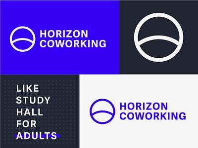 Coworking Branding WIP spec wip coworking clean minimal circle typography wordmark mark identity logo branding