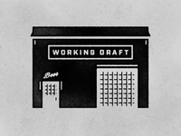 Brewery Building Illustration
