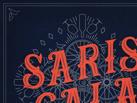Saris Gala Brand Identity / Illustration