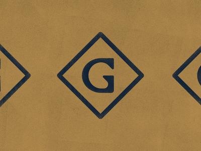 G brand mark WIP
