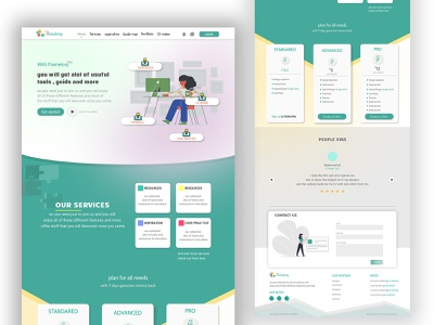 Landing Page for materials and tutorials web site user interface userinterface shot website design web design landing page design landingpage landing ui design uidesign app adobe xd webdesign ui  ux uiux ux ui design website web