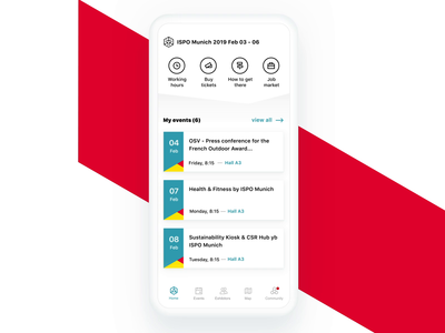 Messe Connect - whitelabel app